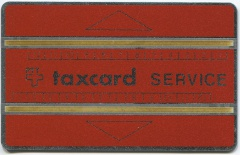 'Service Taxcard rot'