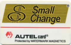 'AUTELcard Small Change'