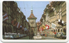 AUTELcard Belltower in Berne