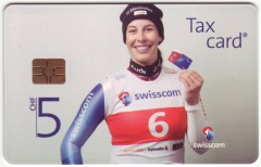 'CHF 5 Swisscom - Main Sponsor of Swiss-Ski'