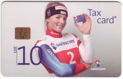 'CHF 10 Swisscom - Main Sponsor of Swiss-Ski'