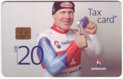 'CHF 20 Swisscom - Main Sponsor of Swiss-Ski'