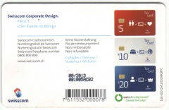 CHF 20 Swisscom Corporate Design