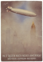 'Zeppelin über New York'