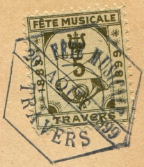Fete Musicale TRAVERS 1899